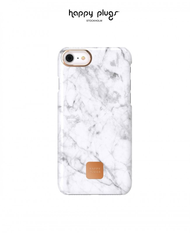 Phone Cover Iphone 7 / 8 Plus White Marble (Happy Plugs)
