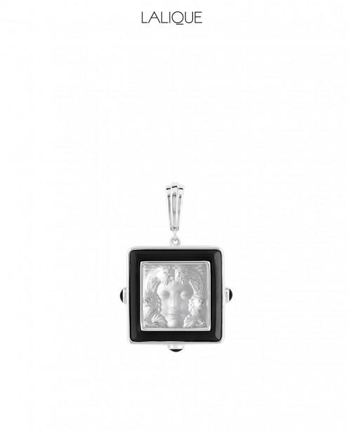Arethuse Silver & Black Pendant (Lal...