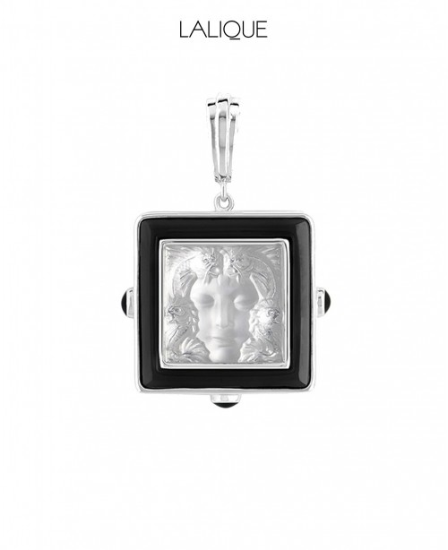 Arethuse Crystal Pendant (Lalique)