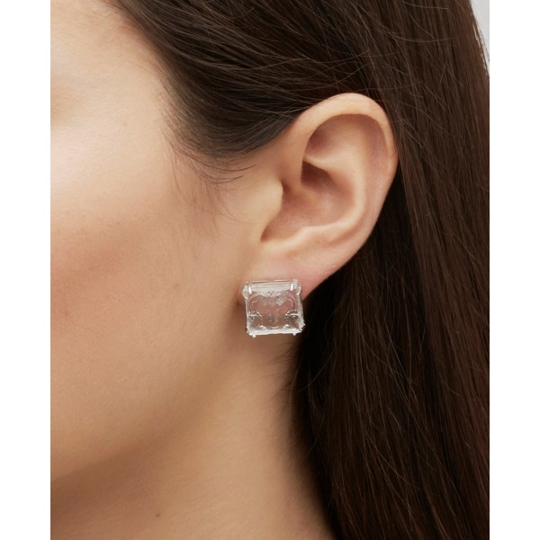 Arethuse Crystal Earrings (Lalique)
