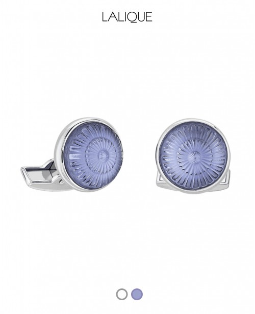 Toupie Crystal Cufflinks (Lalique)