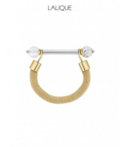 1928 Fantasie Crystal Bracelet - Gold (L...
