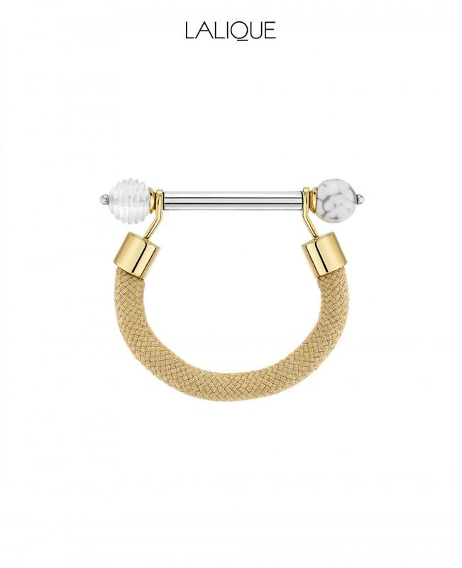 1928 Fantasie Crystal Bracelet - Gold (Lalique)