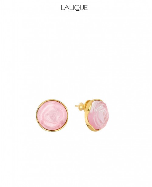 Pivione Pink Earrings (Lalique)