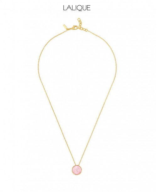 Pivione Pink Necklace (Lalique)