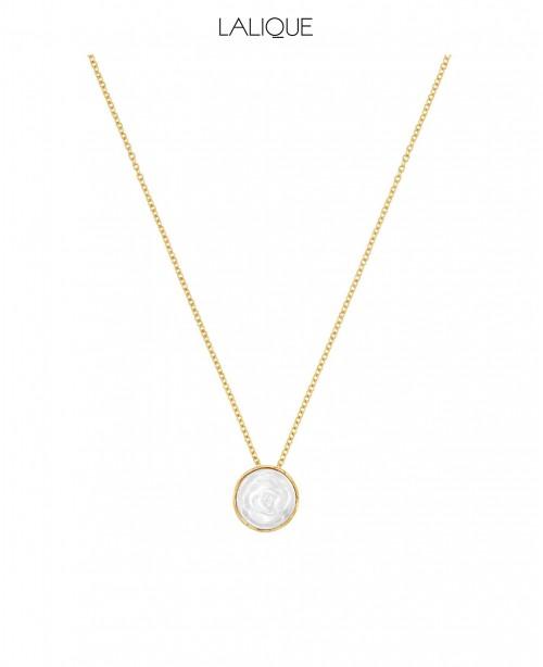 Pivione White Necklace (Lalique)