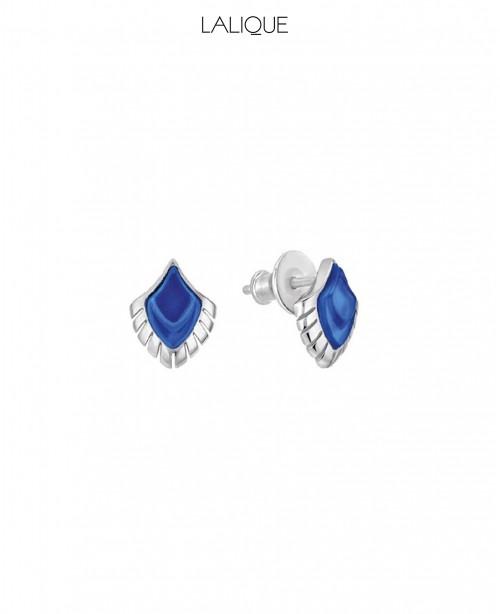 Paon Earrings Blue (Lalique)