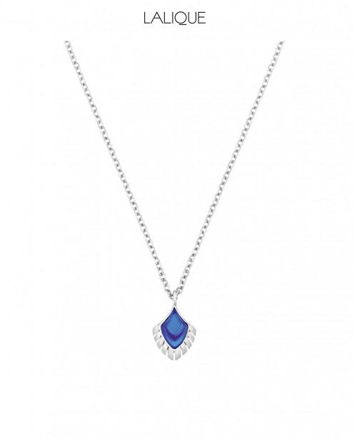 Blue Pendant & Chain Small (Lalique)