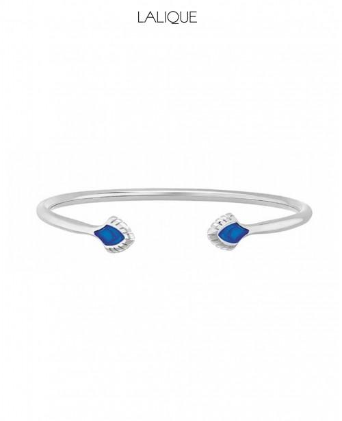 Paon Blue Bangle Small (Lalique)