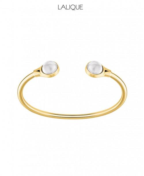 Cabochon White & Gold (Lalique)