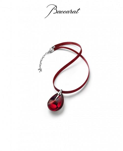 Psydelic Pendant large red (Baccarat)