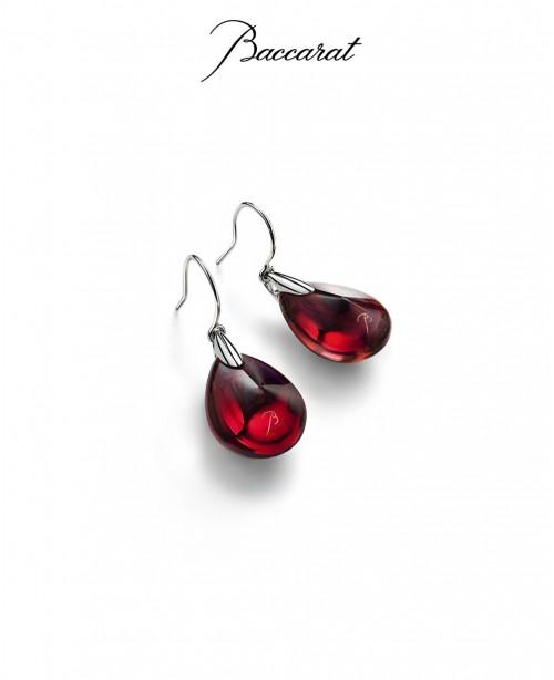 Psydelic Wire Earrings Red (Baccarat)
