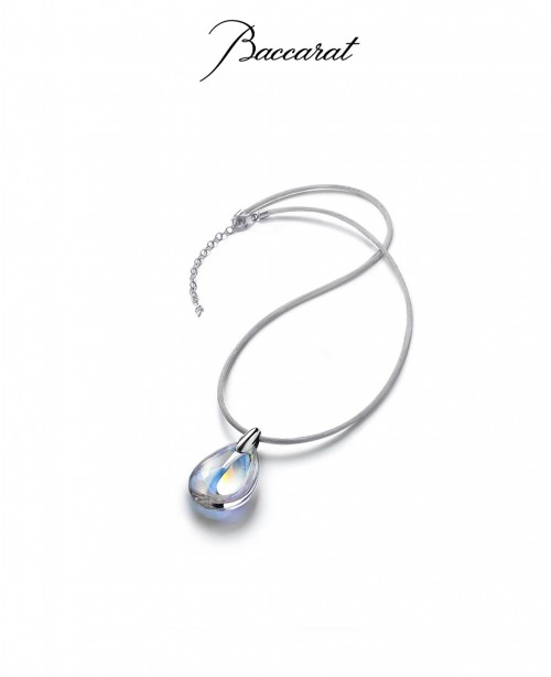 Psydelic small clear pendant (Baccarat)