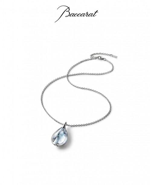 Fleurs de Psydelic Necklace Large Clear ...