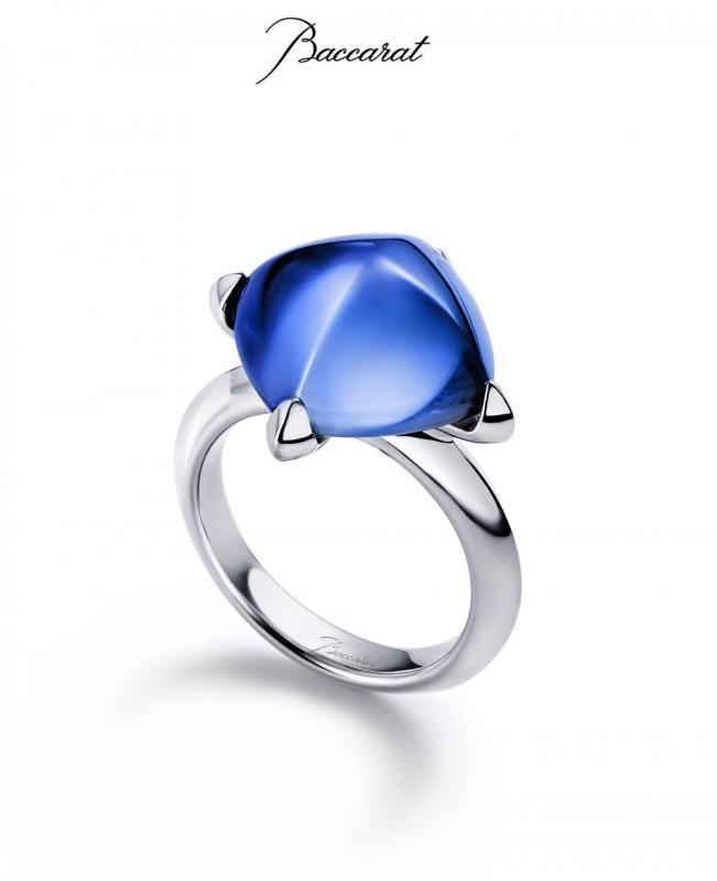 Medicis Ring Riviera Crystal Silver (Baccarat)