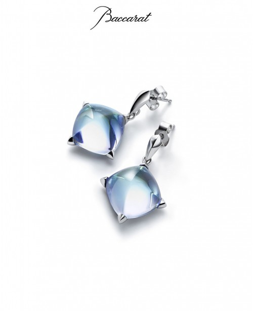 Medicis Earrings Acqua Crystal Silver  (...