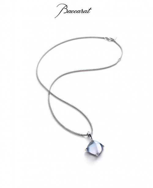 Medicis Pendant Small & Chain Aqua S...