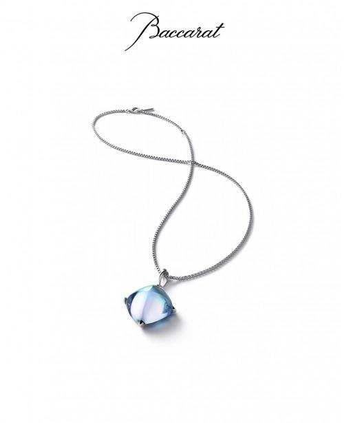Medicis Large Aqua Necklace (Baccarat)
