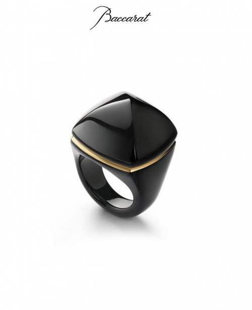 Medicis Black Large Ring  (Baccarat)
