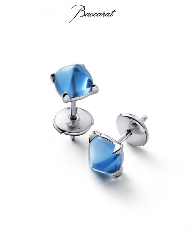 Medicis Earrings Riviera Crystal (Baccarat)