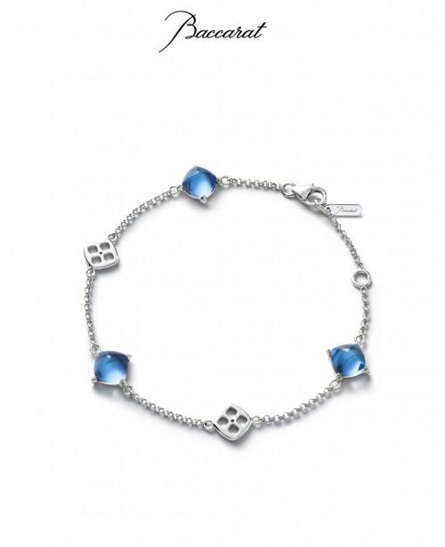 Medicis Bracelet Blue Crystal & Silv...