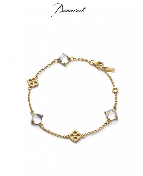 Medicis Bracelet Clear Crystal & Gol...