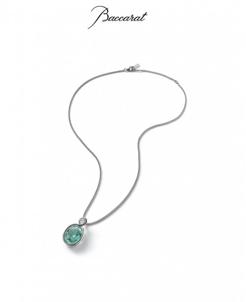Croise Pendant & Chain Turquoise Cry...