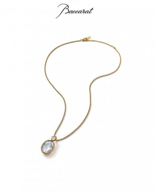 Croise Pendant & Chain Clear Crystal...