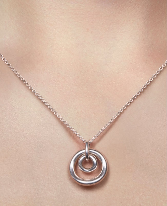 Idole De Christofle Pendant & Chain Small  (Christofle)