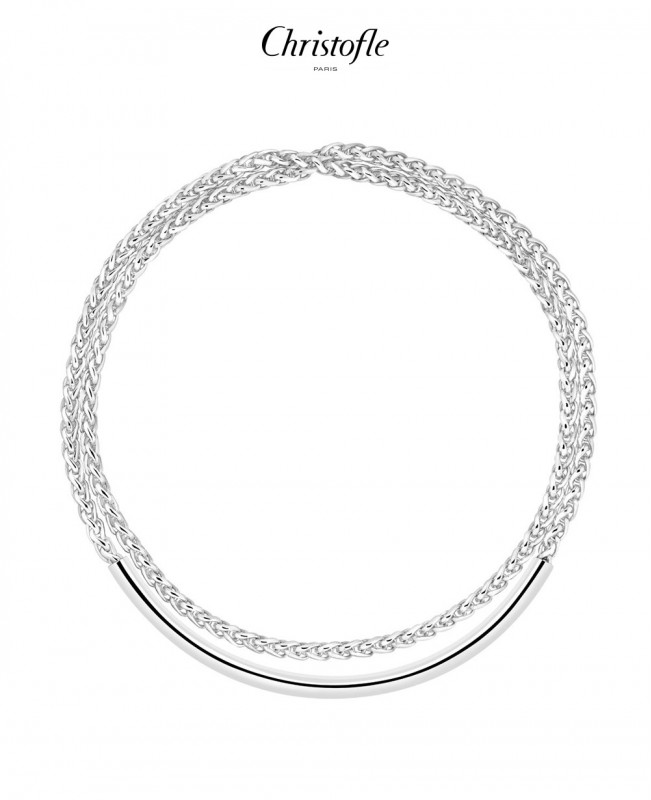 Duo Complice Necklace  (Christofle)