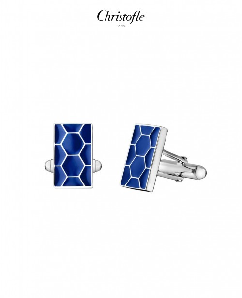 Code Royale Blue Cufflinks (Christofle)