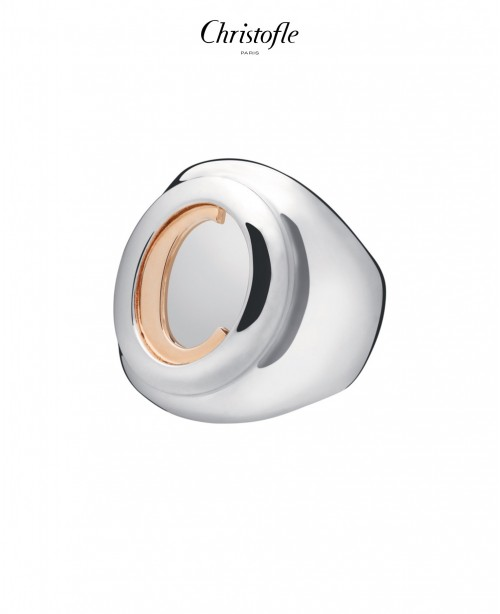 C De Christofle Signet Ring (Christofle)
