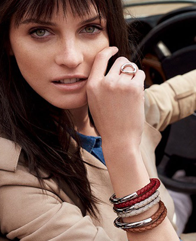Duo Complice Red Bracelet (Christofle)