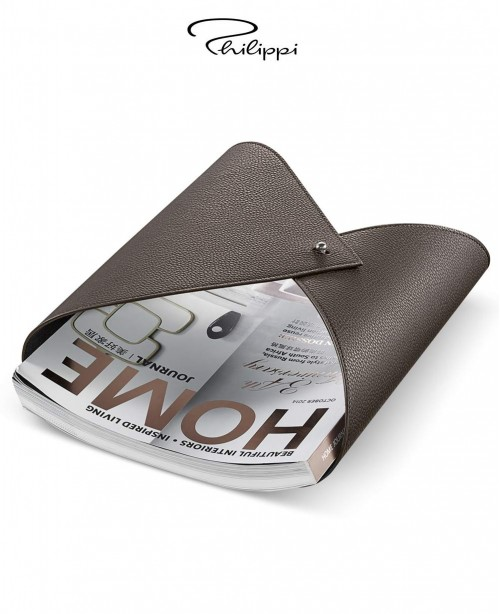 Amplesso Leather Magazine Holder - Brown...