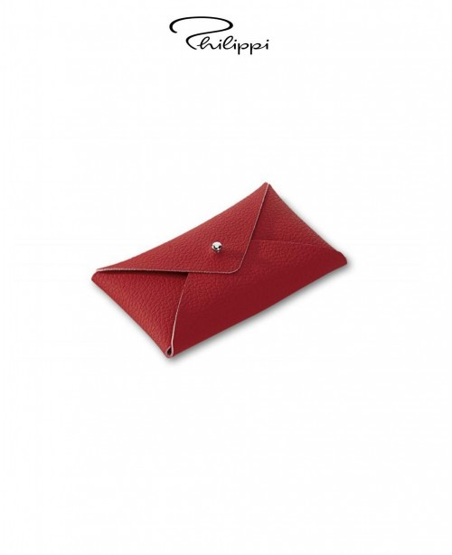 Letter Leather Business Card Holder - Re...