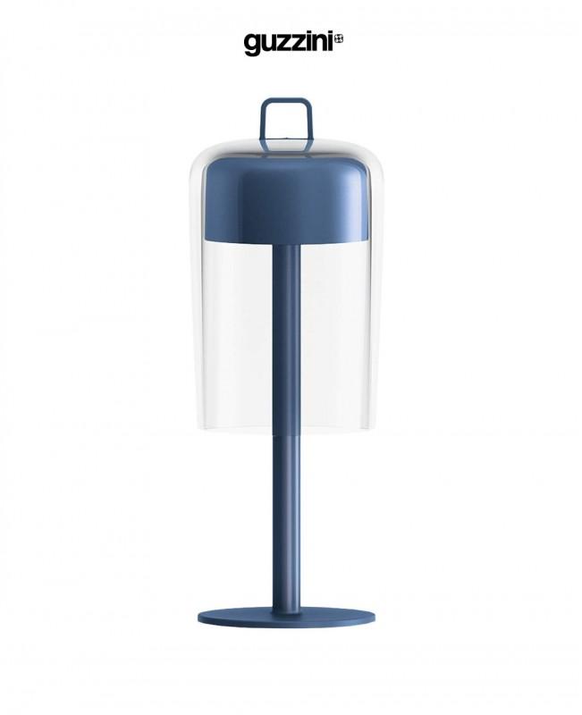 Soiree Table Lamp Cordless Blue (Guzzini)