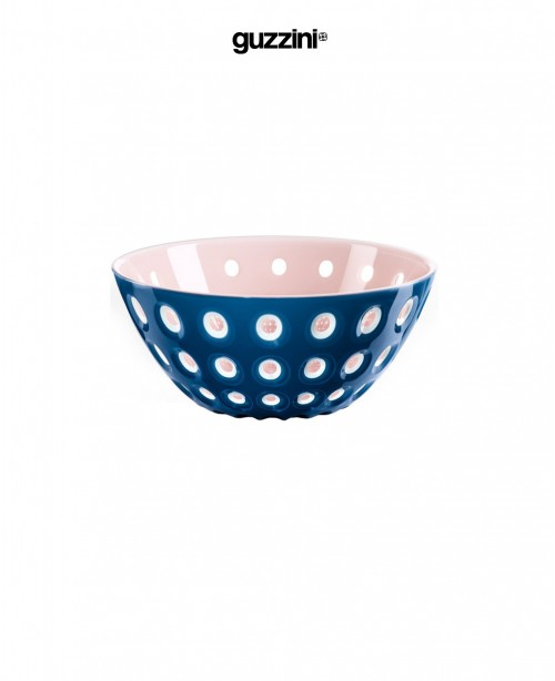 Le Murrine Salad Bowl Blue and Pink