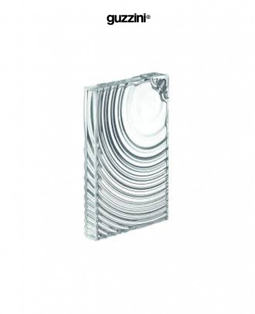 Ripples Flat Pack Water Bottle Clear