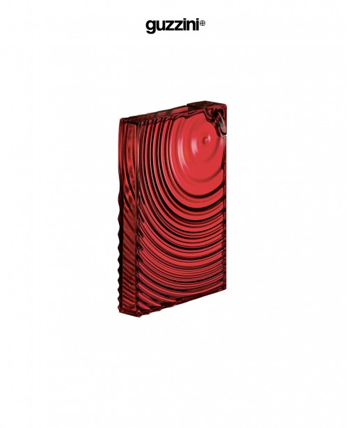 Ripples Flat Pack Water Bottle Red