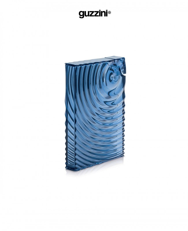 Ripples Flat Pack Water Bottle Blue