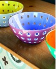 Le Murrine Salad Bowl Blue and Pink (Guz...