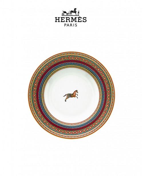Cheval d'Orient Soup Plate (Hermes)
