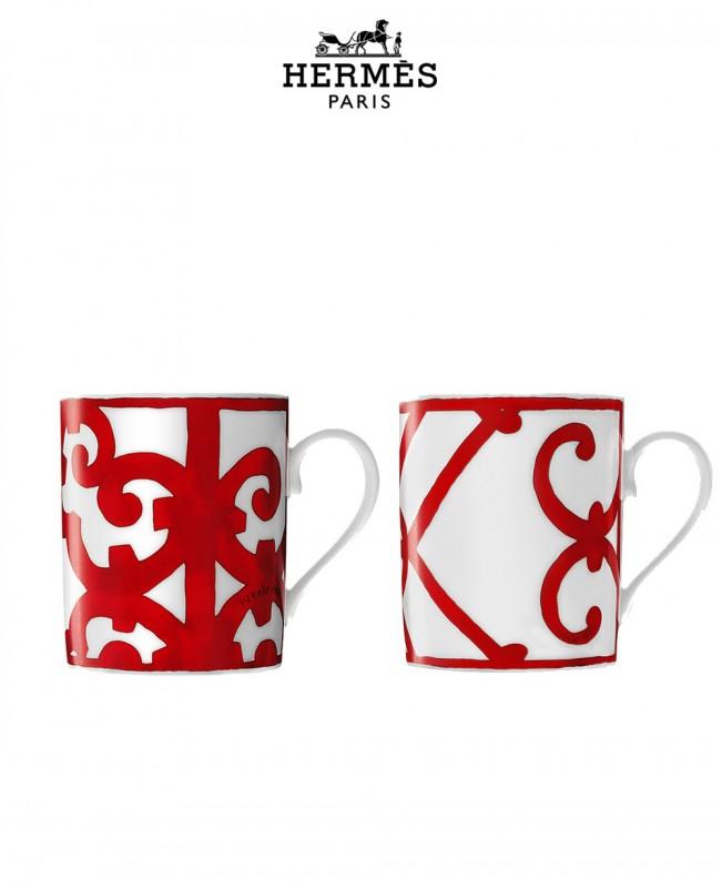 Balcon Du Guadalquivir Set Of 2 Mugs (Hermes)