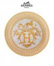 Mosaique Au Gold 24 Platinum Tart Platte...