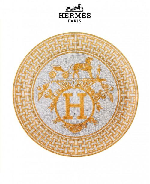 Mosaique Au 24 Gold Platine Tart Plate (...