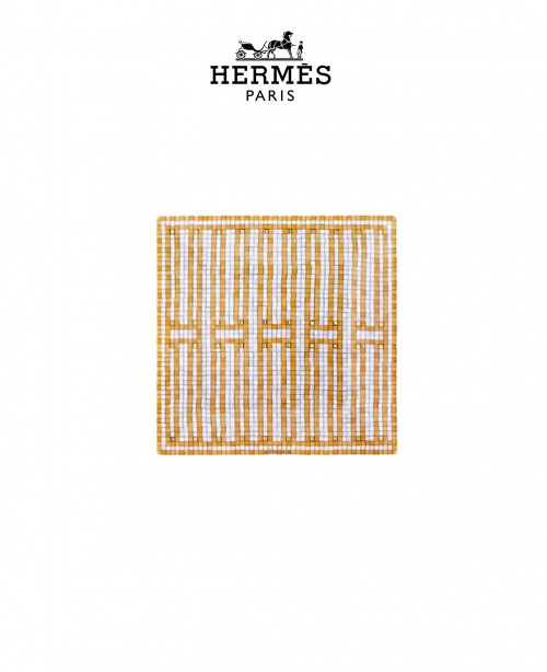 Mosaique au 24 Or Square Plate N2 (Herme...