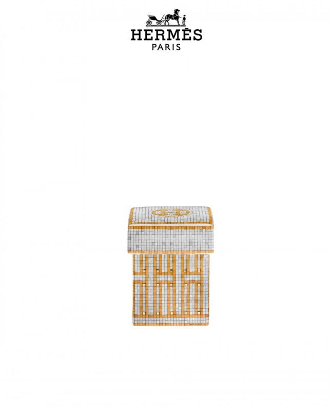 Mosaique Au 24 Gold Box, Small Model (Hermes)