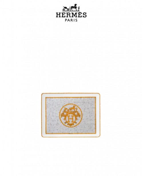 Mosaique Au 24 Gold Sushi Plate (Hermes)