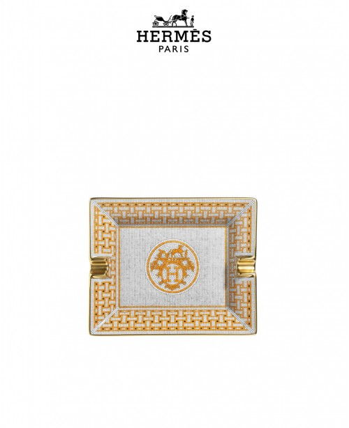 Mosaique Au 24 Gold Ashtray (Hermes)