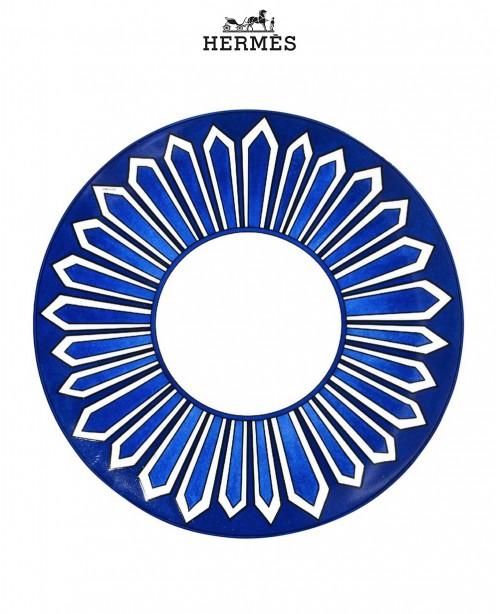 Bleus d'Ailleurs American dinner plate (...